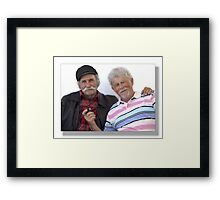 Noblesse  Oblige / Who pays the Ferry man Framed Print