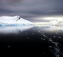 Antarctic Dawn, Paradise Bay by John Dalkin