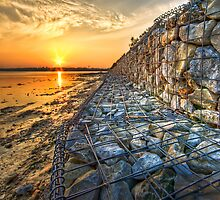 Poole Sunset (2) by Roy Griffiths