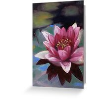 Fallen Star-Water Lily Greeting Card