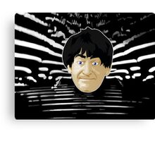 Doctor Who - Second Doctor Intro Canvas Print