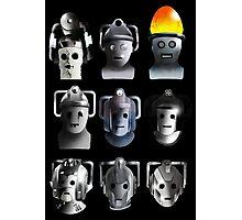Cyberman Evolution Photographic Print