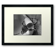 One Ply Framed Print