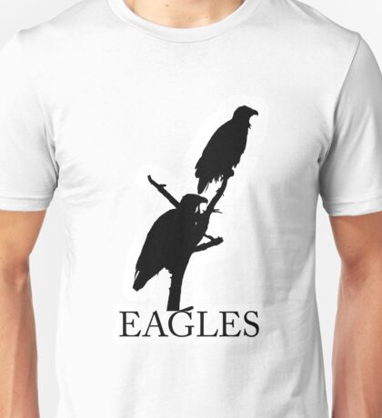 eagles silhouettes Unisex T-Shirt