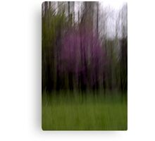 Purple - An Abstract Expressionism Canvas Print