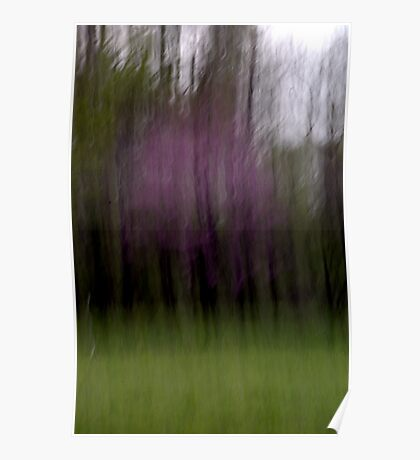 Purple - An Abstract Expressionism Poster