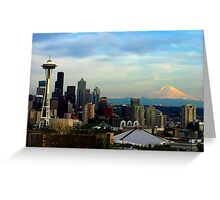 Sunset from Kerry Park Greeting Card