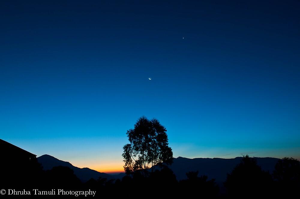 Sunrise in Munnar by Dhruba Tamuli