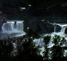 Shoshone Falls by Klaus Girk