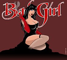 Bad Girl by monsterbox
