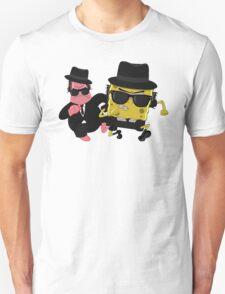 Blues Brothers meets Spongebob and Patrick Unisex T-Shirt