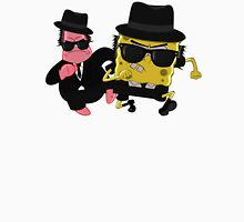 Blues Brothers meets Spongebob and Patrick Unisex T-Shirt