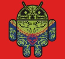 Dia de los Android Muertos Kids Tee