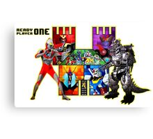 Welcome to Castle Anorak 2 - Ready Player One Canvas Print
