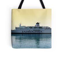 Marko Polo ship, Croatia Tote Bag
