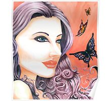 Butterfly Maiden ~ By Torrie Nightingale Poster