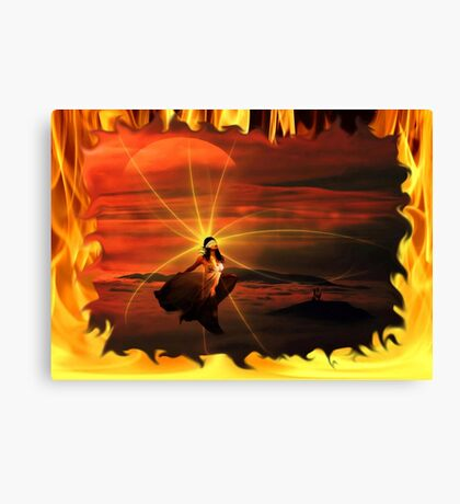 ~ Born In The Eternal Fire ~ Canvas Print