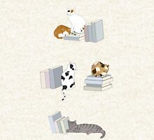 Cats Love Books Hoodie