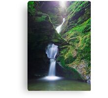 St. Nectan's Glen , Cornwall Canvas Print