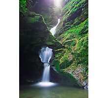 St. Nectan's Glen , Cornwall Photographic Print