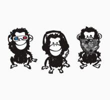 Three wise monkeys One Piece - Long Sleeve