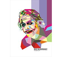 Joker WPAP Photographic Print