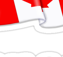 Canada Waving Flag Sticker