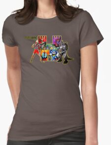 Welcome to Castle Anorak 2 - Ready Player One Womens Fitted T-Shirt