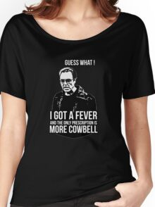 MORE COWBELL Women's Relaxed Fit T-Shirt