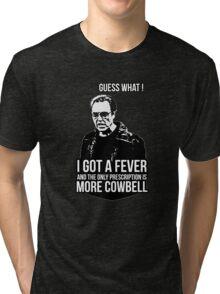 MORE COWBELL Tri-blend T-Shirt