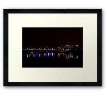 Reflection on Vistula River, Krakow Framed Print