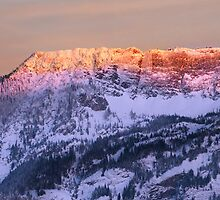 Sunset at Snoqualmie by Mikhail Lenitsyn
