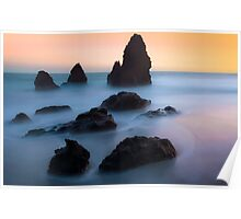 The Dead Sea… High Tide at Rodeo Beach Poster