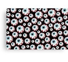 COOL RAD EYEBALL PATTERN Canvas Print