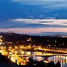 Night Prague by Sergey Martyushev