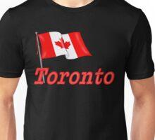 Canada Waving Flag - Toronto Unisex T-Shirt