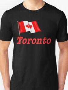 Canada Waving Flag - Toronto T-Shirt