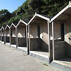 Beach huts by Racben