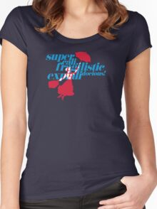 Supercalifragilisticexpialidocious Women's Fitted Scoop T-Shirt
