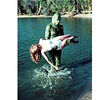 Retro Horror Film  Photographic Print