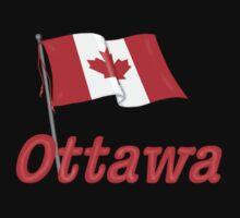 Canada Waving Flag - Ottawa Kids Clothes