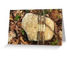 A Goldsworthy Tribute Greeting Card