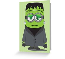 Frankenstein's Minion Greeting Card