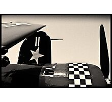 Lines of a Warbird Photographic Print