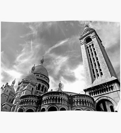 The Sacre Coeur at Montmartre Poster