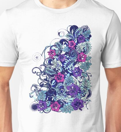 Hibiscus_Growth Unisex T-Shirt