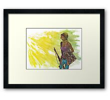 Up to the Challenge Framed Print