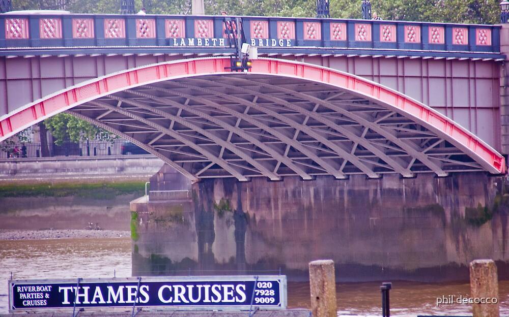 Lambeth Bridge by phil decocco