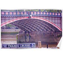 Lambeth Bridge Poster