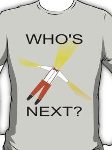 Whos Next? Dr Who Regeneration T-Shirt
